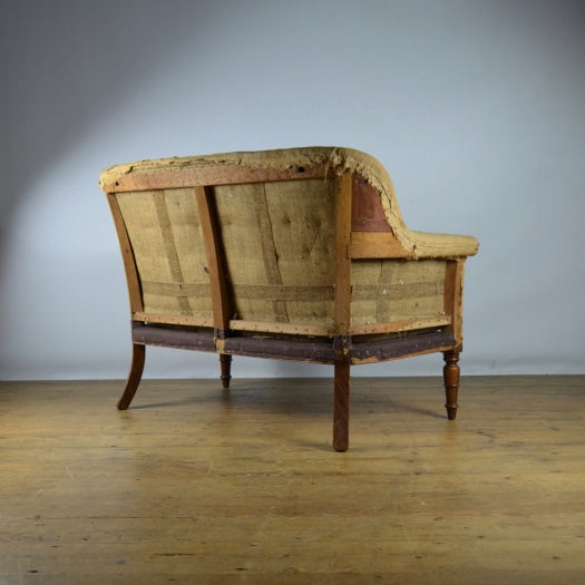 Antique Sofa Reupholstery Cost: C287 - Two Seater Sofa - Reupholstery Included